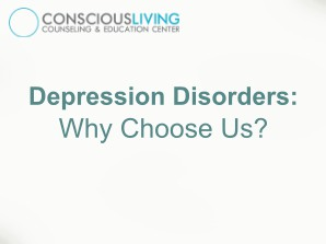 Depression Disorders: Why Choose Us?