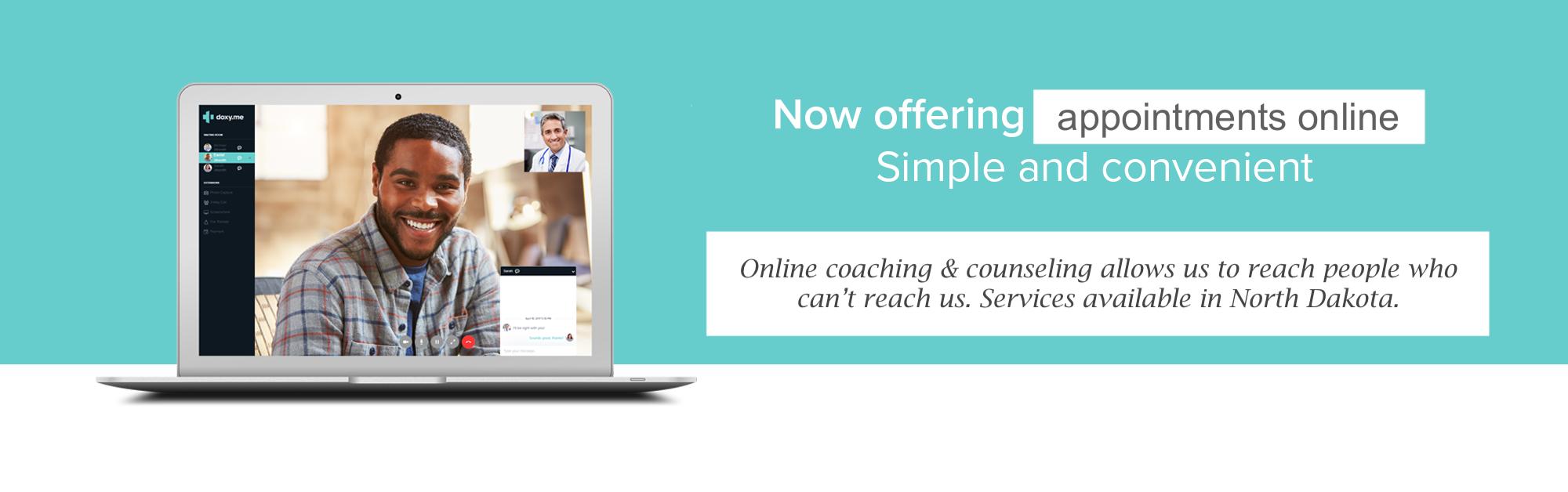 Online Counseling, Fargo